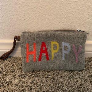 "Wrist pouch ""HAPPY"" from GAP"
